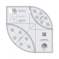 Creative Grids Round Up Tool Non-Slip Ruler