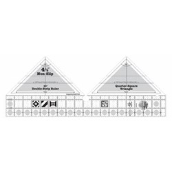 Creative Grids 90 Degree Double-Strip Quilt Ruler