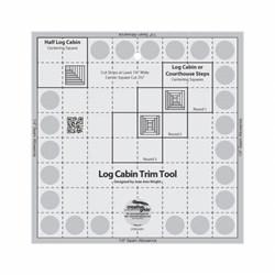 Creative Grids Log Cabin Trim Tool Ruler