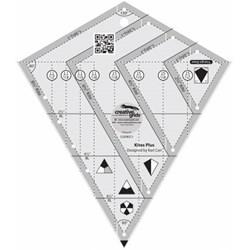 Creative Grids Kites Plus Quilt Ruler