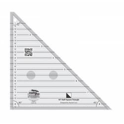 Creative Grids 90 Degree Quarter-Square Triangle Quilt Ruler