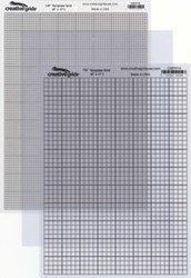 Creative Grids Textured Template Plastic Grids - Assortment Pack