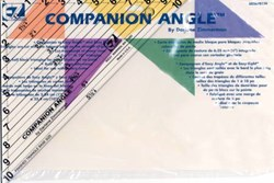 EZ Quilting - Companion Angle Triangle Ruler
