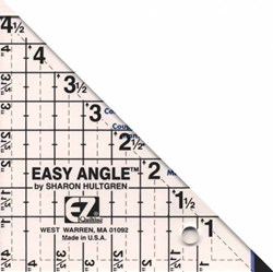 EZ Quilting - Easy Angle 4.5 Inch Ruler