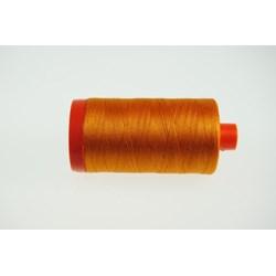 Aurifil #1133 -  Mako 50 wt  Thread - Tangerine