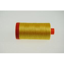 Aurifil #1135 - Mako 50 wt  Thread - Pale Yellow