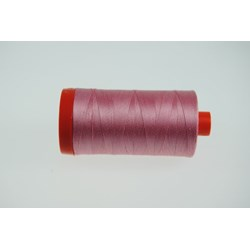 Aurifil #2425-   Mako 50 wt  Thread - Cotton Candy Pink