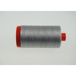 Aurifil #2615 - Mako 50 wt  Thread - Aluminum Gray