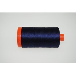 Aurifil #2785 - Mako 50 wt  Thread - Very Dark Navy