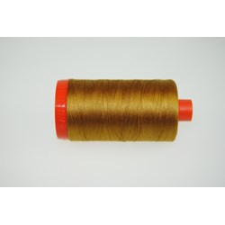 Aurifil #2975 - Mako 50 wt  Thread - Brass