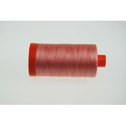 Aurifil #4250 - Mako 50 wt  Variegated Thread - Coral