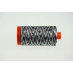 Aurifil #4652  - Mako 50 wt  Variegated Thread -Zebra