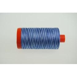 Aurifil #4655 - Mako 50 wt  Thread - Varrigated Blues