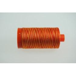 Aurifil #4657  - Mako 50 wt  Variegated Thread - Sunset