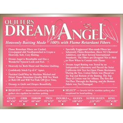 "Quilters Dream Angel King Size Batting ""Select"""