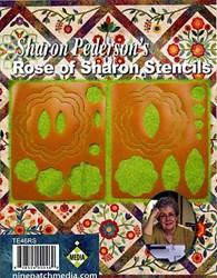 Sharon Pederson's Rose of Sharon Stencils Set