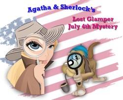 <i>NEW!</i>  Agatha & Sherlock's 2021 Lost Glamper July 4th Mystery
