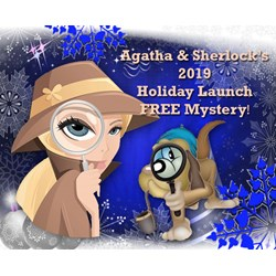 Agatha & Sherlocks Free Holiday Launch Mystery 2019