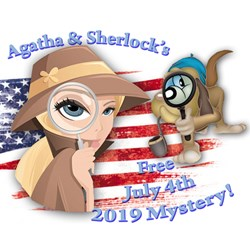 Agatha & Sherlocks Free July 4th Star-Struck Mystery 2019