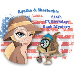 Agatha & Sherlocks Free 2020 244th US Birthday Bash Mystery
